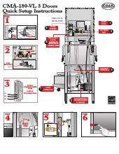 cma dishmachines cma 180 vl ventless dishwasher quick installation guide cma dishmachines cma 180 vl ventless dishwasher ckitchen com Basic Electrical Wiring Diagrams at gsmportal.co