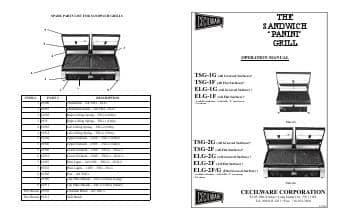 grindmaster cecilware tsg2f double panini grill owner s manual grindmaster cecilware tsg2f double panini grill ckitchen com  at aneh.co