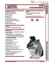 Hobart FP100-1B.SpecSheet.pdf