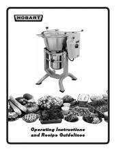 Hobart hcm62 1 food processor kitchen equipment ckitchen hob1042pdf recipe guidelinespdf forumfinder Image collections