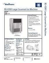 Manitowoc BG-0260A.SpecSheet.pdf