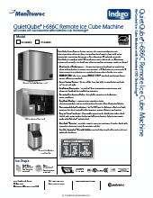 Manitowoc Icvd 0696 Condenser Unit Kitchen Equipment