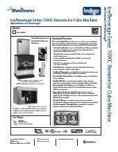 Manitowoc Icvd 1195 Condenser Unit Kitchen Equipment