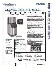 Manitowoc IR-0906A.SpecSheet.pdf