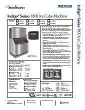 Manitowoc Ir 1890n Indigo Series Ice Maker