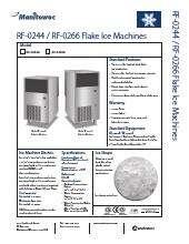 Manitowoc RF-0266A.SpecSheet.pdf