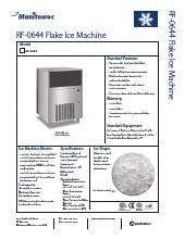Manitowoc Rf 0644a Ice Maker With Bin