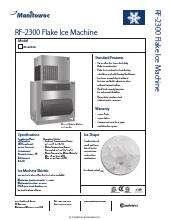 Manitowoc Rf 2300a Ice Maker Kitchen Equipment