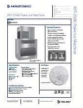 Manitowoc RFF2500A.SpecSheet.pdf