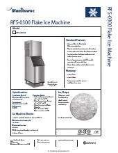 Manitowoc Rfs 0300a Ice Maker Kitchen Equipment