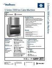 Manitowoc SY-3305W3HP.SpecSheet.pdf