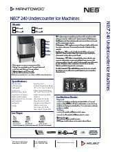 Manitowoc UYF0240W.SpecSheet.pdf