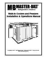master bilt 760820ex quick ship cooler freezer combination walk in owner s manual nor lake walk in freezer wiring diagram wiring diagrams norlake freezer wiring diagram at nearapp.co