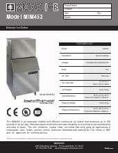 Maxximum MIM452.SpecSheet.pdf