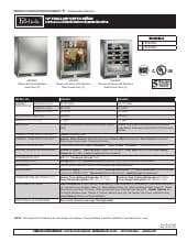 Perlick 18 Shallow Depth Refrigerator Shallow Depth Wine