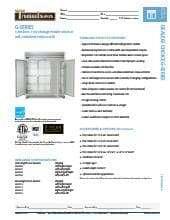 Owneru0027s Manual.pdf Traulsen G31012R.SpecSheet.pdf