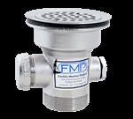 FMP 100-1056 Heavy-Duty Waste Style Drain Nickel-plated bronze body