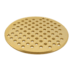 "FMP 102-1082 Round Floor Drain Grate For 7"" Smith Floor Drains"