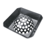 "FMP 102-1140 Dome Dish 6"" Floor Drain Strainer"