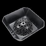 "FMP 102-1141 Dome Dish 6-1/2"" Floor Drain Strainer"
