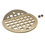 """FMP 102-1152 Franklin Hinged Floor Drain Grate For 5"""" round Smith floor drains"""