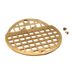 """FMP 102-1153 Franklin Hinged Floor Drain Grate For 6"""" round Smith floor drains"""