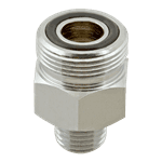 FMP 106-1203 Encore Hose Adaptor by CHG Adapts CHG or T&S Brass hose to Fisher spring body