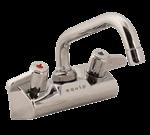 """FMP 110-1220 Equip 4"""" Center Faucet by T&S Brass 6"""" spout"""