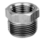"FMP 117-1024 Brass Reducing Bushing - Hex 1/2"" x 1/4"" NPT"