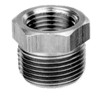 "FMP 117-1025 Brass Reducing Bushing - Hex 1/2"" x 3/8"" NPT"