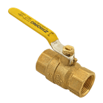 "FMP 117-1085 Heavy-Duty 3/4"" NPT Ball Valve"