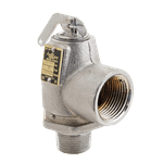 FMP 117-1120 Conbraco Pressure Relief Valve 50 PSI  satin chrome