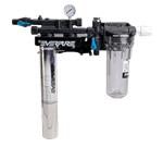 FMP 117-1250 Kleensteam II 7CB5 Water Filtration System by Everpure Can accommodate a second filter cartridge for increased capacity