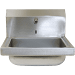 FMP 117-1488 Hand Sink with Hands-Free Electronic Faucet by CHG