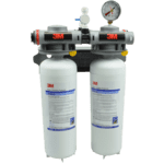 FMP 117-1514 Dual Head Water Filter System by 3M 3.34 GPM  0.2 micron