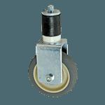 "FMP 120-1074 Standard-Duty 4"" Rigid Stem Caster with Plain Bearing"