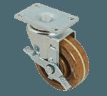 "FMP 120-1209 Medium-Duty 4"" Swivel Caster with Brake 475*F maximum temperature rating"