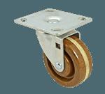FMP 120-1210 High Temperature Medium-Duty Swivel Plate Caster 475*F maximum temperature rating