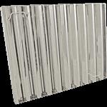 """FMP 129-2116 Flame Gard Type III Baffle Grease Filter 20"""" H x 25"""" W"""