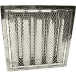 """FMP 129-2121 Baffle Grease Filter for Captive-Aire Stainless steel  16"""" H x 16"""" W"""