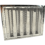 """FMP 129-2122 Baffle Grease Filter for Captive-Aire Stainless steel 16"""" H x 20 W"""