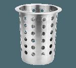 FMP 133-1163 Stainless Steel Silverware Cylinder