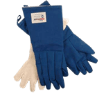 "FMP 133-1252 5-Fingered Glove by Tucker Safety Products Nomex fabric with VaporGuard 18"" long"