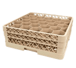 FMP 133-1309 Traex Dishwasher Glass Rack by Vollrath Holds 30 glasses