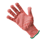 FMP 133-1427 KutGlove Cut Resistant Safety Glove by Tucker Safety Products Medium  green wristband