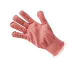 FMP 133-1428 KutGlove Cut Resistant Safety Glove by Tucker Safety Products Large  white wristband