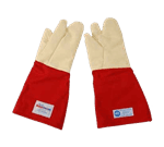 FMP 133-1429 High Temperature 3-Fingered Gloves with Sewn-in Liners by Tucker Safety Products