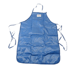 "FMP 133-1434 QuicKlean Protective Apparel Apron by Tucker Safety Products 36"" long  44"" long ties"