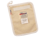 "FMP 133-1489 Hot Pad by Tucker Safety Products Terry cloth fabric  8"" x 10-1/2"""