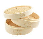 FMP 133-1572 Bamboo Steamer with Cover